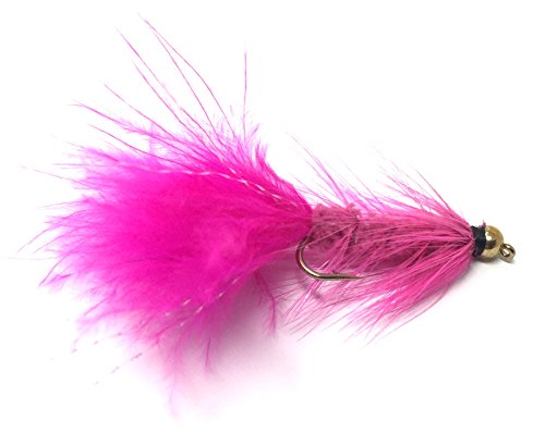 Feeder Creek Wooly Bugger Fly Fishing Flies for Trout, Bass and...