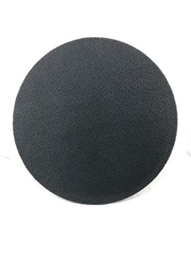 Onbekend normale pad machine pad 20 inch zwart - 508 mm (10 stuks) schrobpad reinigingspad poetspad machine pad schoonmaakschijf voor stenen vloeren