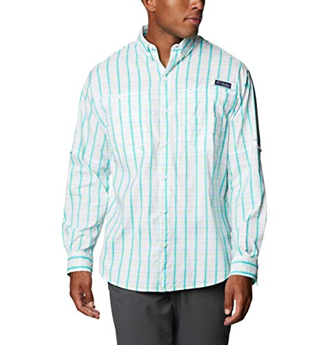 Columbia Super Tamiami - Camisa de Manga Larga para Hombre, Hombre, Super Tamiami Camisa de Manga Larga, 143894, Color, Extra-Small