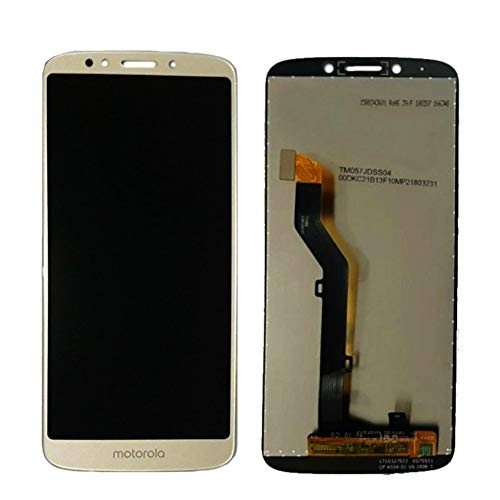 Tela Touch Display Lcd Frontal Motorola Moto G6 Play Xt1922 Dourado Primeira Linha