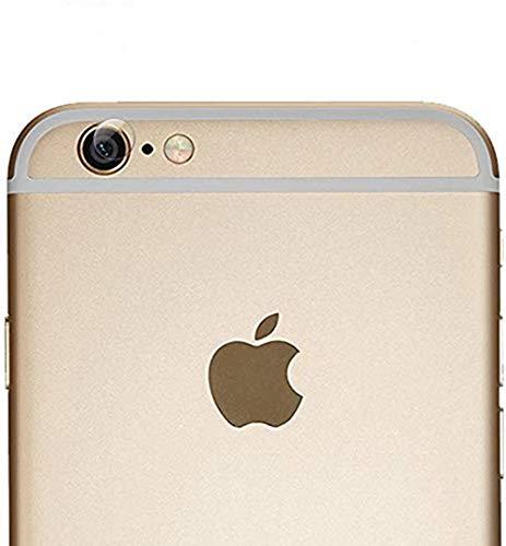 HongMan Cristal Templado para Lente Cámara de iPhone 6/6S, Ultra Fino Protector 2.5D 9H de Dureza Cámara Trasera Lente Película de Pantalla [3 Unidades]