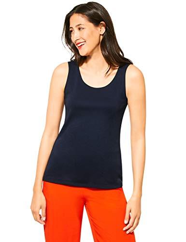 Street One Damen Gania T-Shirt, deep Blue, 38