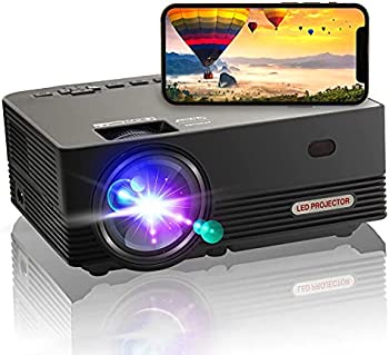 OSEVEN Native 9000-Lumens LED Home Theater Projector
