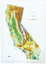 3d map of california