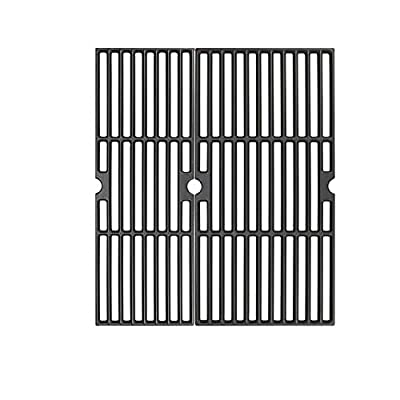 ZLjoint 18 Inches Cooking Grates for Charbroil Performance 2 Burner 463625217, Performance 300 2-Burner Gas Grill, Cast Iron Grill Cooking Grids (2)