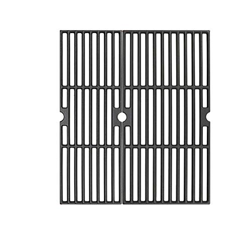 ZLjoint 18 Inches Cooking Grates for Charbroil Performance 2 Burner 463625217, Performance 300 2-Burner Gas Grill, Cast Iron Grill Cooking Grids (2) Grates Grids