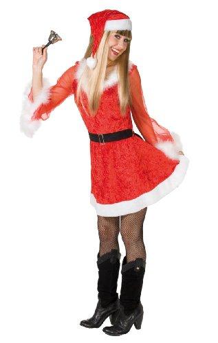 Rubie\'s Damen Kostüm Sexy Weihnachtsgirl Größe 38