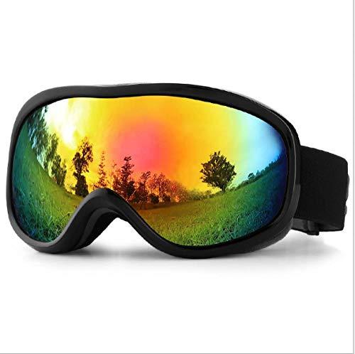 Mouygsd Gafas Snowboard Doble Capa Antiniebla Gafas de esquí Gafas de esquí antivaho de Doble Capa Equipo de esquí Gafas de esquí de montaña