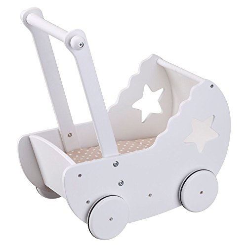 Kids Concept 412605 Puppenwagen inkl. Decke