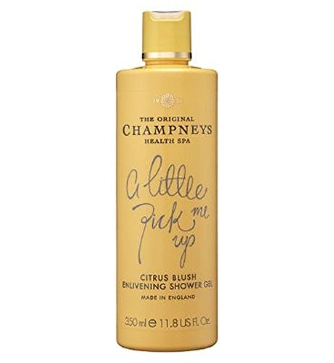 レイア領収書代理人チャンプニーズシトラス赤面盛り上げシャワージェル350ミリリットル (Champneys) (x2) - Champneys Citrus Blush Enlivening Shower Gel 350ml (Pack of 2) [並行輸入品]