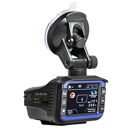 3 in 1 Car HD 1280X720P Registratore Di Guida DVR Rilevamento Velocità Telecamera Rilevatore Anti R-Adar GPS, Rilevatore Radar, Registrazione Auto Tre in Una Combo