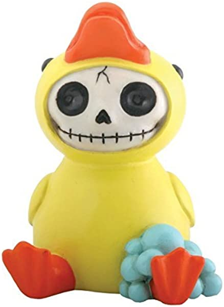 Bob Duck Rubber Ducky Furry Bones Statue