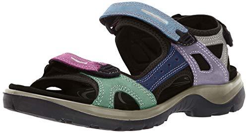 ECCO Women's Yucatan Sandal, Multicolor Pastel, 39 EU / 8-8.5 M US