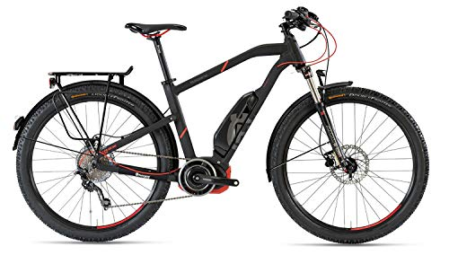 Husqvarna Light Cross LC2 Allroad - Bicicleta eléctrica (29', 2019, 50 cm), color negro y rojo
