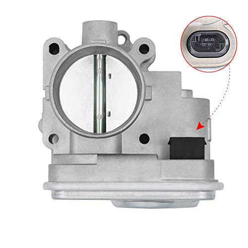 04891735AC Electronic Throttle Body with IAC TPS - Fits 2.0L and 2.4L Chrysler 200, Sebring, Dodge Avenger, Caliber, Journey, Jeep Compass and Patriot - Replaces, 977025, 4891735AD, 4891735AC - Year