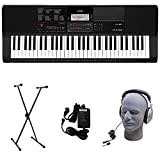 Casio CT-X700 PPK Premium Keyboard Pack with Power Supply, Stand, and Headphones (Renewed)