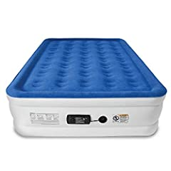 CUSTOMER FRIENDLY 1-YEAR WARRANTY comes standard on all SoundAsleep mattresses. Rest assured on your purchase of the highest quality air mattress money can buy. Call or email anytime for support. Our US based team is here to help! INDUSTRY LEADING DE...