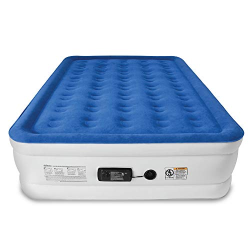 SoundAsleep Dream Series Air Mattress with ComfortCoil Technology &...