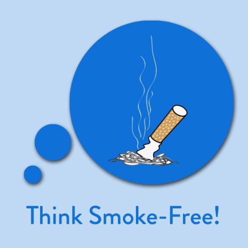Think Smoke-Free! Quit Smoking Affirmations audiobook cover art