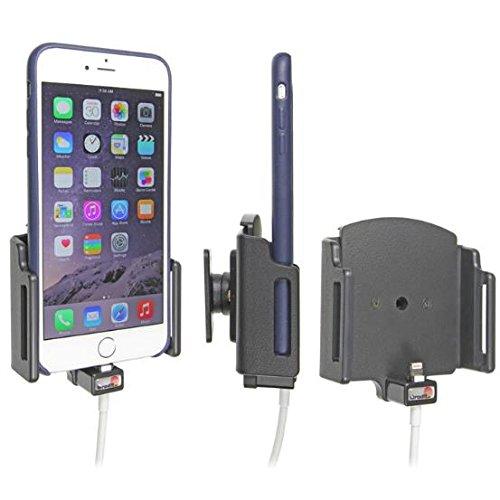 Brodit 515667 - Soporte para Dispositivos Apple iPhone 6 Plus/6S Plus/7 Plus, Compatible con Dispositivos con Funda, Ajustable y Cable para Adaptador Lightning de 30 Pines