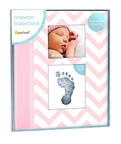 Pearhead P62214 - Libro bebé, color rosa