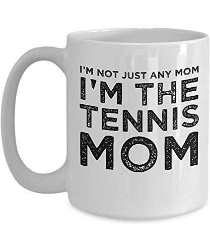 Porseleinen Cup Tennis Mom Gift 'No Soy una Mama 'Soy The Tennis Mom Grappige moeder van de speler Grote keramische mok voor werelden De beste Mama koffiemok koffiemok gepersonaliseerd R