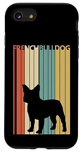 iPhone SE (2020) / 7 / 8 Vintage French bulldog Case