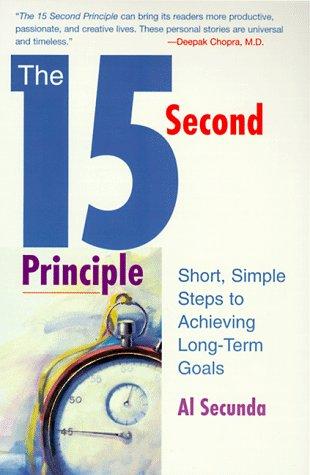 The 15-second Principle