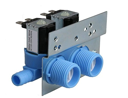 Clothes Washer Water Inlet Valve for 285805 Whirlpool, Kenmore, Maytag, Frigidaire, Electrolux