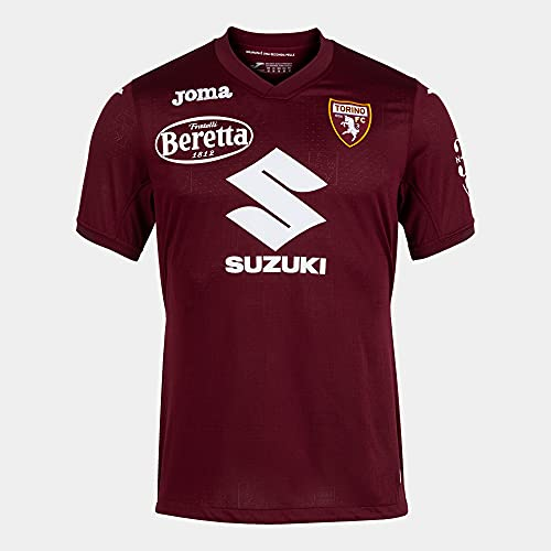 1ª Camiseta Manga Corta Torino Burdeos