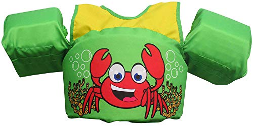 Body Glove Paddle Pals Learn to Swim Life Jacket (Crab)