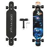 INNOWEIGH 41 Zoll Longboard Skateboard Through Freestyle...