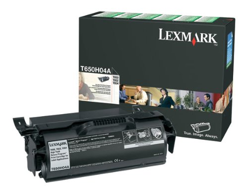 T650H04A Lexmark T650N Tonerkartusche Schwarz