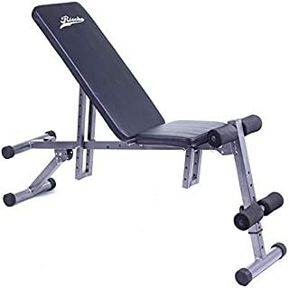 comprar comparacion Grupo K-2 Riscko - Banco de Abdominales Pleglable y Regulable Fitness Seis Posiciones | Banco de Musculación Ab07e