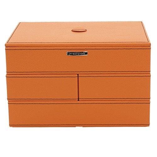 Friedrich|23 Damen-Schmuckkasten Modulo orange - 20043-3