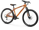 Anakon SK6 Bicicleta de montaña, Hombre, Naranja, L