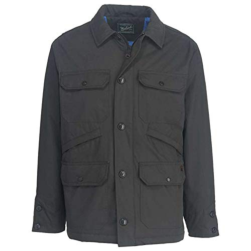Woolrich Men's Crestview Eco Rich Field Jacket - Asphalt - M