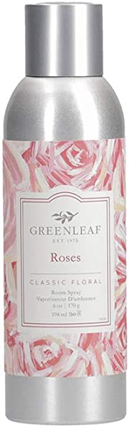 GREENLEAF Air Freshener Room Spray Roses Made In The USA
