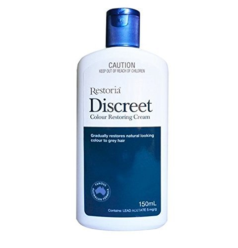 Restoria Discreet Colour Restoring Cream and Lotion, Hair Care 150ml, Reduce Grey Hair - Suitable for Men and Women Color with 1pcs Chinese Knot Gift