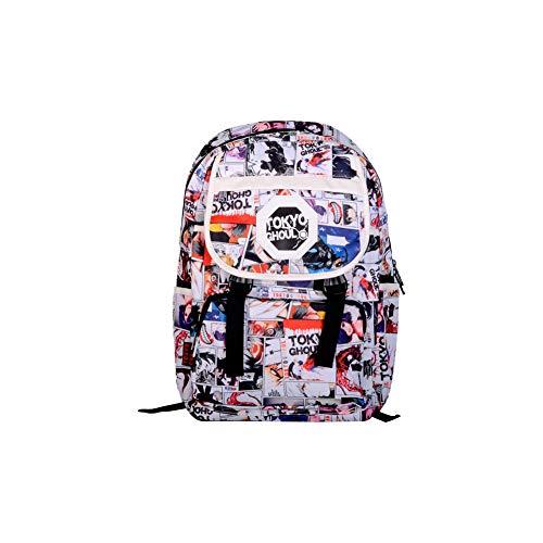 CHENMA Tokyo Ghoul Anime Cosplay Leinen College Rucksack Backpack Schultasche Büchertasche Laptop Daypack Schultertasche