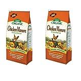 Espoma Organic GM3 3.75 Lb Organic Chicken Manure Plant Food, 2 Pack