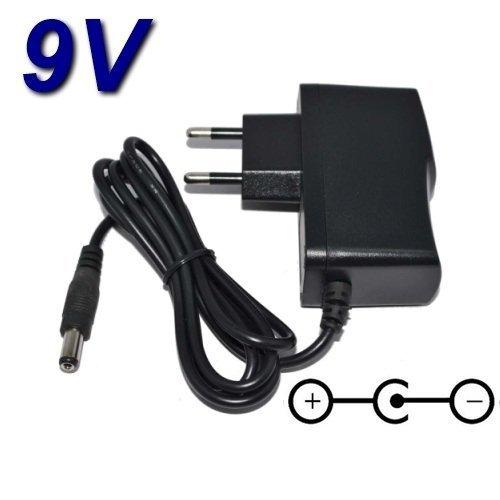 TopChargeur - Adaptador de alimentación, cargador de 9 V para teclado Casio CTK-560L