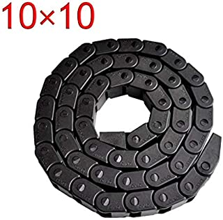 Best Price 10 x 10mm L1000mm Cable Drag Chain Wire Carrier with end connectors for CNC Router Machine Tools