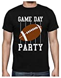 Rugby Game Day Party T-Shirt Homme XX-Large Noir