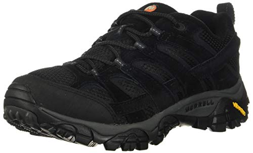 Merrell Shoes for Men Black Lace Work Leather