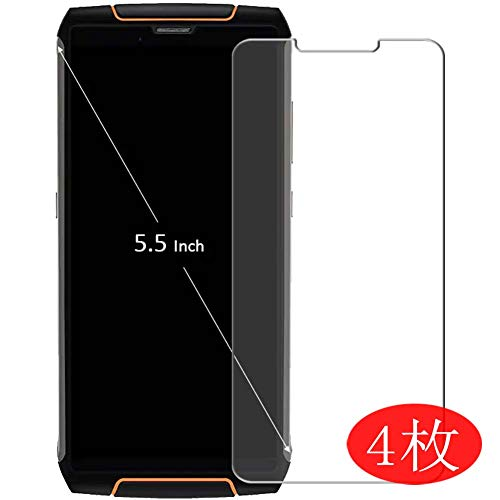 【4 Pack】 Synvy Screen Protector for CUBOT King Kong 3 0.14mm TPU Flexible HD Clear Case-Friendly Film Protective Protectors [Not Tempered Glass]