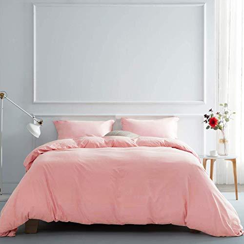 RUIKASI 4-teiliges Bettwäsche-Set für King-Size-Betten mit extra Spannbetttuch, 150...