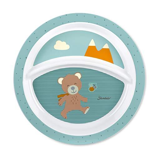 Sterntaler Baby-Teller, Bär Ben, Alter: Für Babys ab 6 Monaten, Mehrfarbig