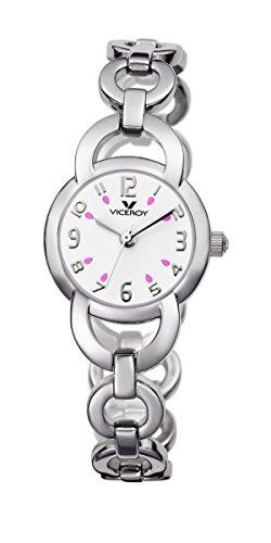 Viceroy 40606-05 - Reloj Infantil, Correa de Acero Inoxidable