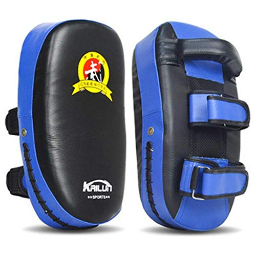 YOUSHANG Tirapugni Blu | 1pc | Pad da Boxe 36X19X9cm | Colpitori Boxe | Muay Thai Taekwondo Sanda Fight Training